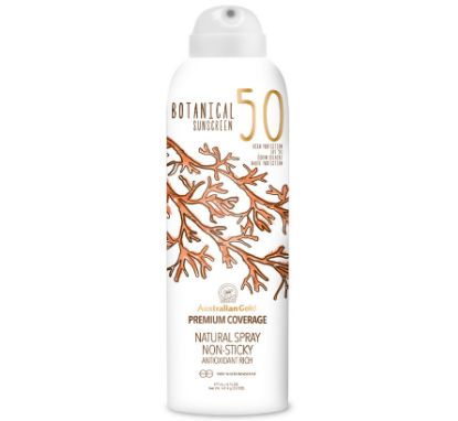Bild von Australian Gold BOTANICAL Suncreen SPF 50 Natural Spray