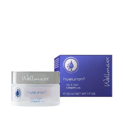Bild von wellmaxx hyaluron⁵ day & night cream rich