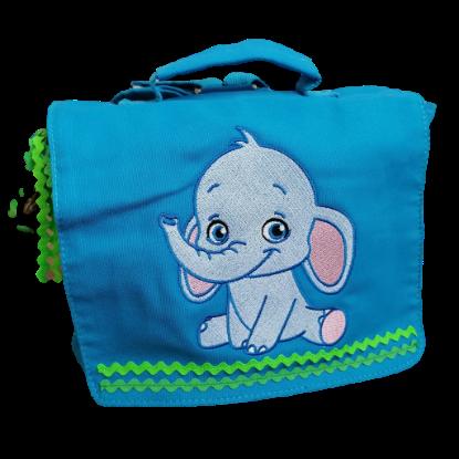 """Bild von Kindergartenrucksack """"Elefant"""" 💥 PERSONALISIERBAR"""