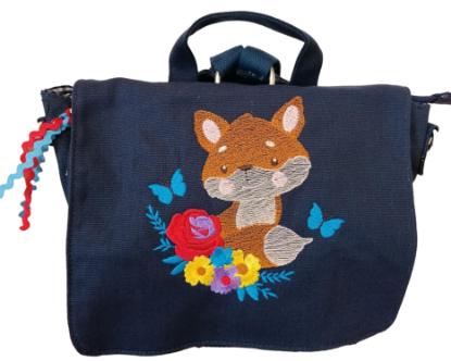 """Bild von Kindergartenrucksack """"Fuchs"""" 💥 PERSONALISIERBAR"""