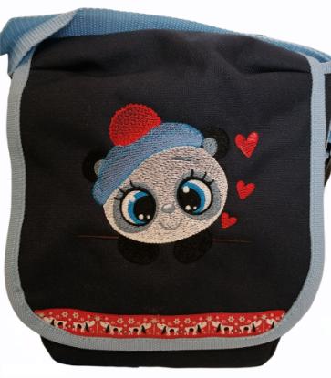 """Bild von Kindergartentasche """"Panda"""" 💥 PERSONALISIERBAR"""