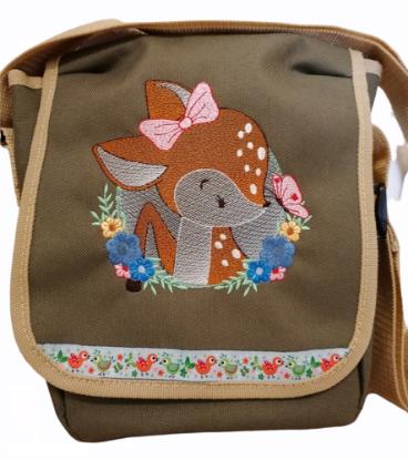 """Bild von Kindergartentasche """"Rehlein"""" 💥 PERSONALISIERBAR"""