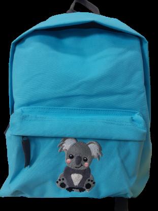 "Bild von Kindergartenrucksack ""Koala"" 💥 PERSONALISIERBAR in 3D 💥"